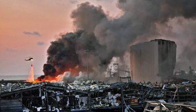 جزئیات انفجار مهیب در بندر بیروت / ۲۷ کشته و ۲۵۰۰ زخمی تا این لحظه