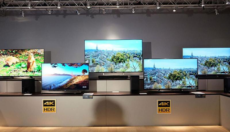 قیمت انواع تلویزیون