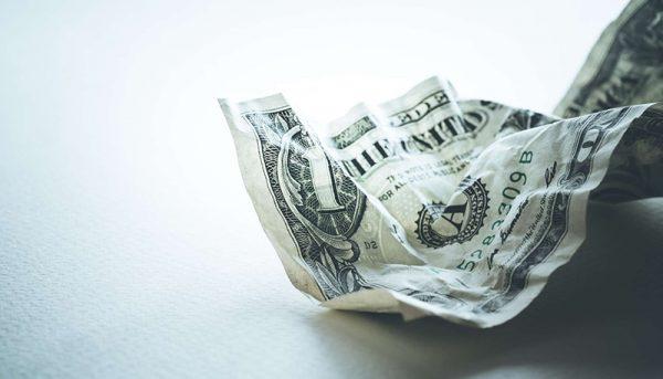 ریزش شاخص دلار برای دومین روز متوالی