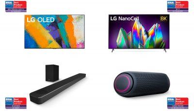 تلویزیونهای پیشگام و محصولات صوتی، الجی برنده بزرگ جوایز 2020 EISA AWARDS