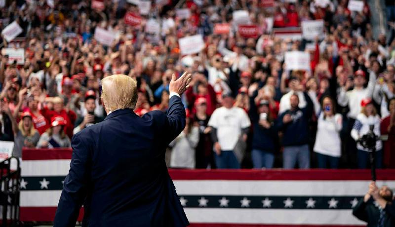ابتلای ۳۰ هزار نفر از طرفداران ترامپ به کرونا