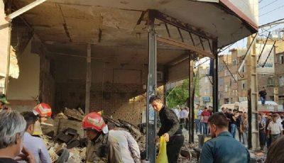 انفجار در نسیم شهر/خسارت به ۳۰ ساختمان و ۲۳ خودرو وارد شد