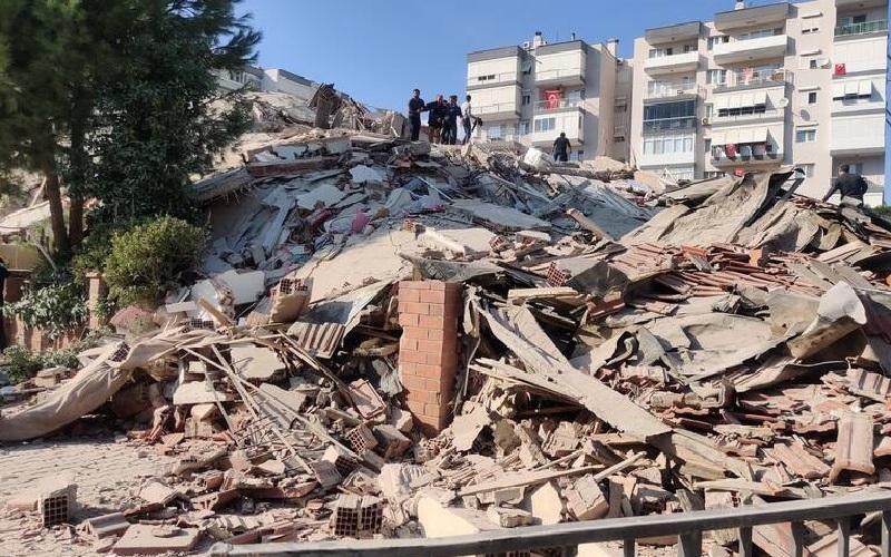 آخرین خبرها از زلزله امروز در ترکیه / مصدومیت دست کم ۱۲۰ نفر