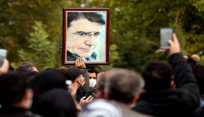 گزارشی از مراسم خاکسپاری استاد شجریان در توس / شجریان فراتر از آواز و هنر ایران بود