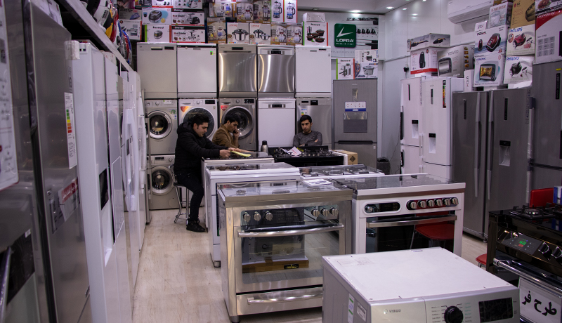 رشد ۵۲ درصدی تولید لوازم خانگی در نیمه اول سال 99