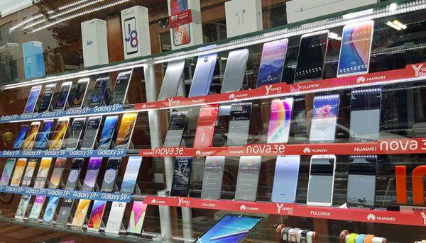 قیمت انواع گوشی امروز ۲۷ دی ۹۹ + جدول