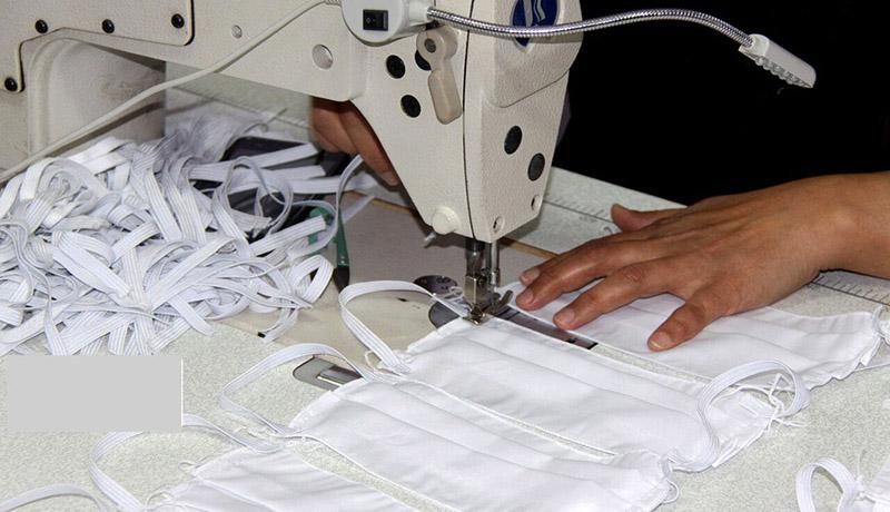 تولید گسترده ماسک پارچهای در دستور کار