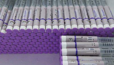 رفع کمبود انسولین قلمی با توزیع محموله جدید