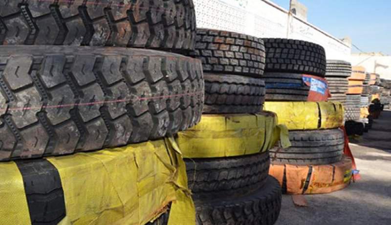 قاچاق تایرهای فرسوده در انحصار چند نفر