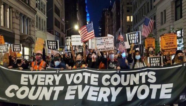 اعتراضهای خیابانی در آمریکا از نیویورک آغاز شد