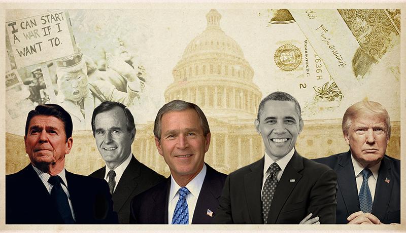 ۴۱ سال تحریم / ۷ رئیس جمهور آمریکا چه تحریمهایی علیه ایران وضع کردند؟