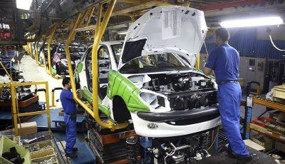 بیش از ۷۰۰ هزار دستگاه خودرو در ۱۰ ماهه امسال تولید شد