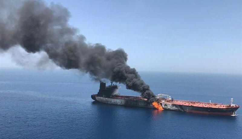 انفجار نفتکش یونانی نزدیک یکی از بنادر عربستان
