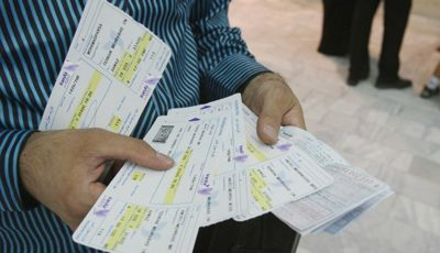 قیمت جدید بلیت هوایپما در مسیرهای پروازی مختلف