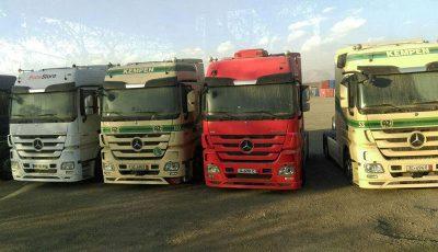2 هزار کامیون وارداتی دست دوم در آستانه ورود به بازار