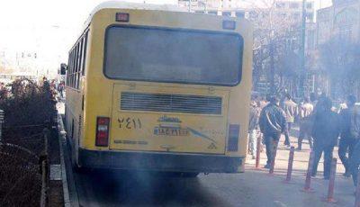 تهاتر اتوبوس خارجی با نفت ایران