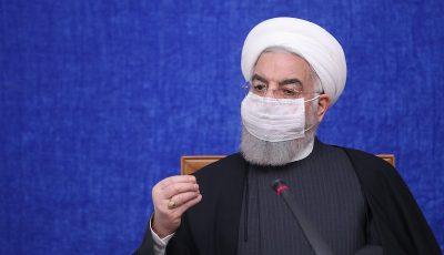 گلایه روحانی از سیاهنمایی و عملیات روانی تخریبی در بورس