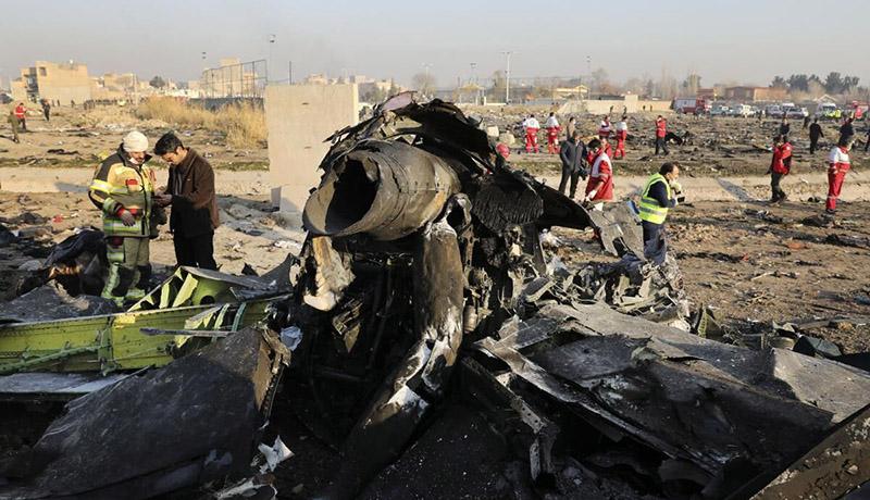 پیشنویس گزارش نهایی سانحه هواپیمای اوکراینی تهیه شد