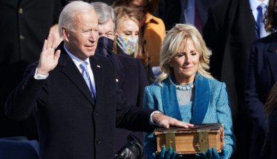 جو بایدن سوگند خورد و چهلوششمین رئیسجمهور آمریکا شد