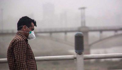 هشدار وزارت بهداشت با تشدید آلودگی هوای تهران