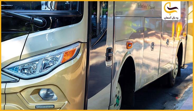 تصویر بهترین نوع اتوبوس های مسافربری داخل ایران