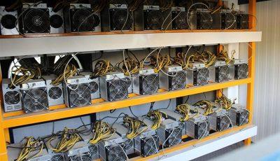 مراکز غیرمجاز استخراج رمزارز جمع میشوند