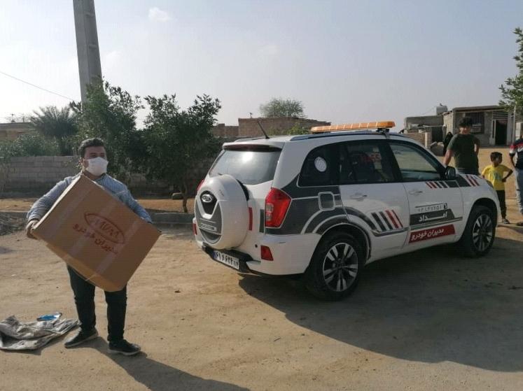ارسال کمکهای شرکت مدیرانخودرو به مناطق سیلزده