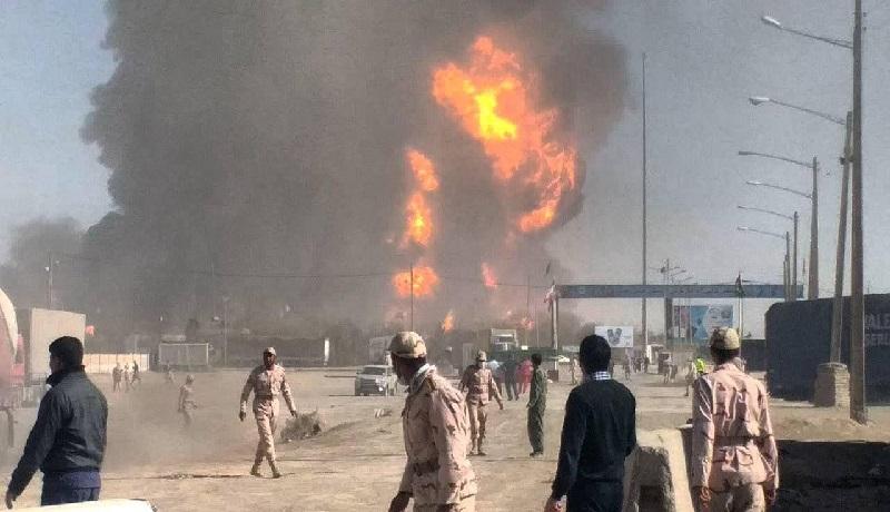 دوغارون؛ ۲۴ ساعت پس از حریق / جزئیات جدید از آتشسوزی مرز ایران و افغانستان