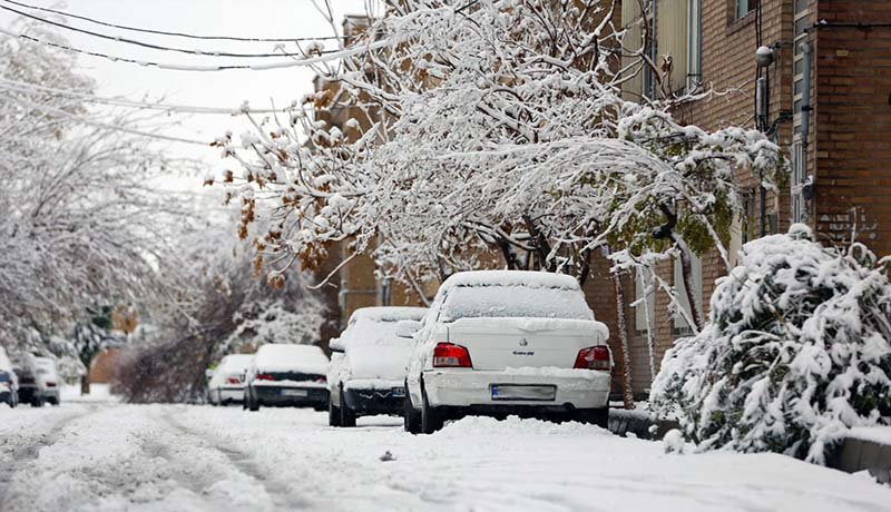 هشدار بارش برف و باران در ۱۶ استان