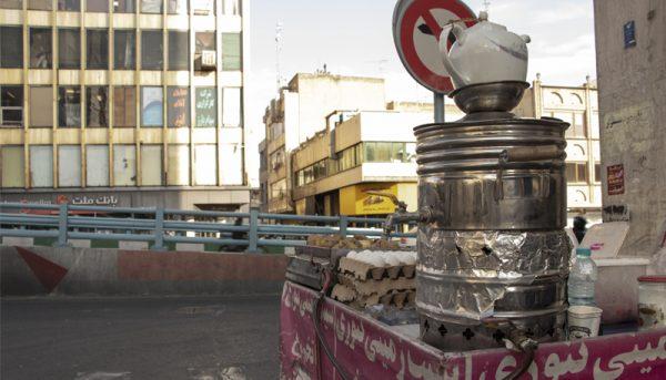 ماجرای مجید در خیابان حافظ تهران / پیرمرد و یک چرخدستی اجارهای!