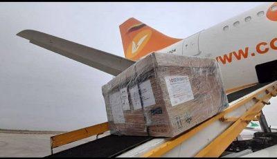 ۱۰۰ هزار دوز واکسن کوبایی کرونا وارد فرودگاه امام خمینی شد