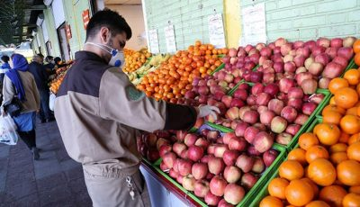 وضعیت میادین میوه و ترهبار در ۱۳ فروردین