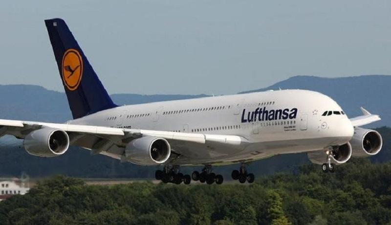 پرواز لوفتهانزا از سر گرفته شد