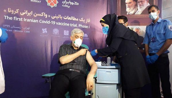 آغاز تزریق عمومی واکسن ایران برکت به داوطلبان، از ۲۴ اردیبهشت