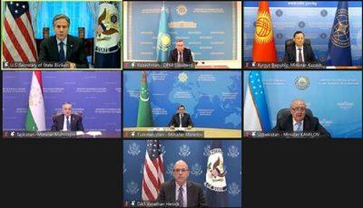 نشست وزیران خارجه آمریکا و آسیای مرکزی برگزار شد
