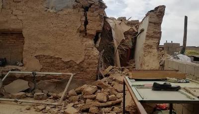 وضعیت گناوه و سیسخت بعد از زلزله / بلاتکلیف میان آوار و کرونا