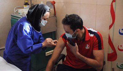 تزریق دوز دوم واکسن کرونا برای ورزشکاران المپیکی