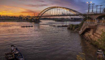 سختترین تنش آبی قرن در خوزستان / آخرین وضعیت رودخانه کارون