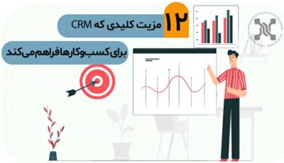 ۱۲ مزیت کلیدی که CRM برای کسبوکارها فراهم میکند