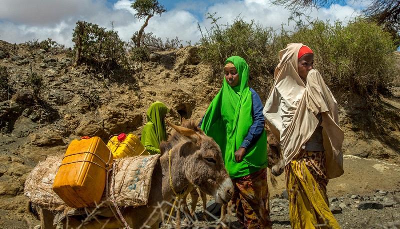 بحران آب در ایران و سومالی