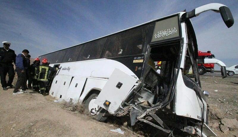 جزئیات حادثه برای اتوبوس خبرنگاران در ارومیه / ۲ خبرنگار جان خود را از دست دادند