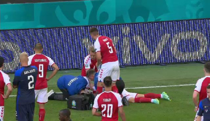 آخرین وضعیت اریکسن، ستاره فوتبال دانمارک+ عکس