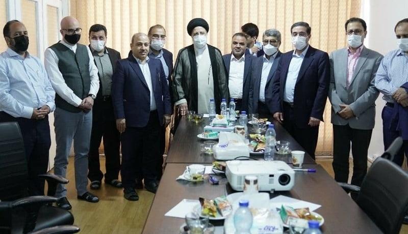 مدیران روزنامهها و خبرگزاریهای اصلاح طلب با رئیسی دیدار کردند