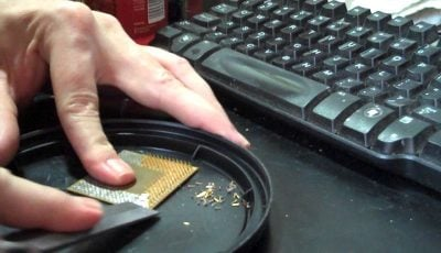استخراج طلا از کامپیوترهای قدیمی/ از هر کامپیوتر چقدر طلا میتوان استخراج کرد؟