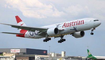 بازگشت هوایپمایی اتریش به آسمان ایران از تیر