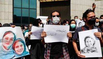 تجمع اهالی رسانه مقابل سازمان محیط زیست/ لزوم عذرخواهی، استعفا و محاکمه خاطیان