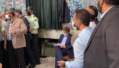 عبدالناصر همتی در حسینیه ارشاد رای داد
