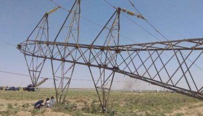 انفجار دوباره دکلهای انتقال برق ایران به عراق