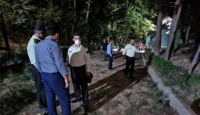 شایعات ضد و نقیض، ترکشهای انفجار در پارک ملت