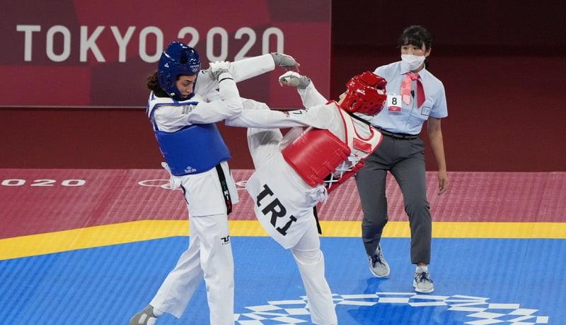 خداحافظی کیمیا علیزاده با المپیک توکیو، بدون کسب مدال